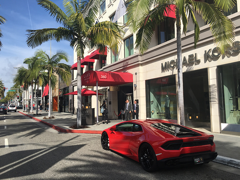 Luxe Rodeo Drive Hotel California Los Angeles United States